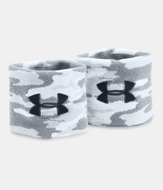 Under Armour Jacquard Grey Wristbands