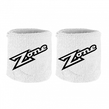 Zone Old School White/Black 2-pack potítka