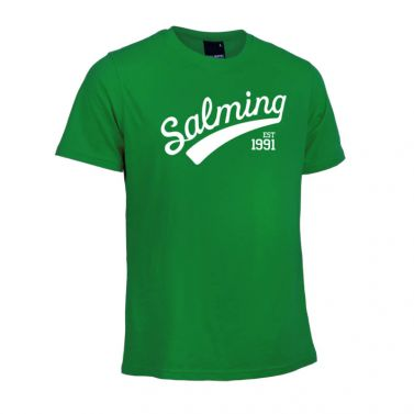 Salming Logo Tee Green
