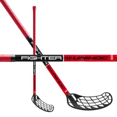 Unihoc FIGHTER 35 Red/Black