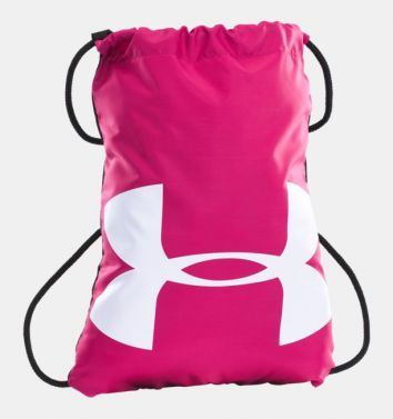 Under Armour Ozsee Pink/White Sackpack