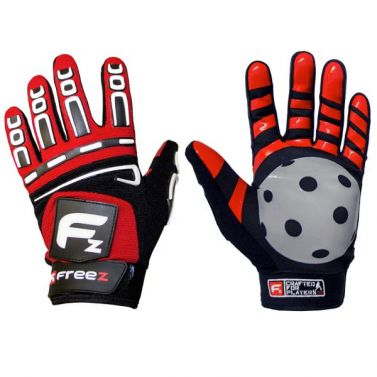 Freez G-180 Goalie Gloves Red Junior