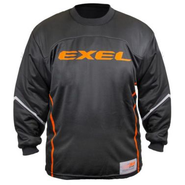 Exel S100 Black/Orange brankársky dres