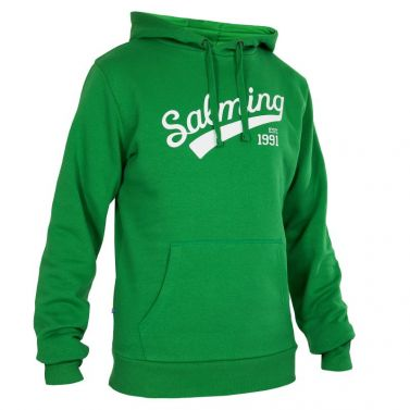 Salming Logo Hood Green