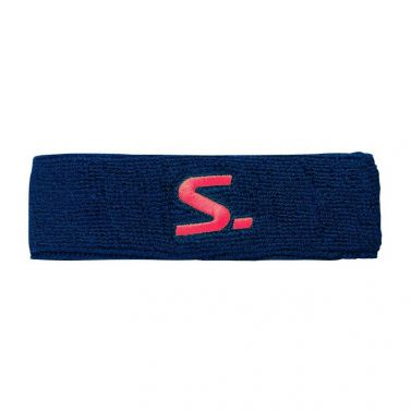 Salming Knitted Headband Navy/Coral 18/19