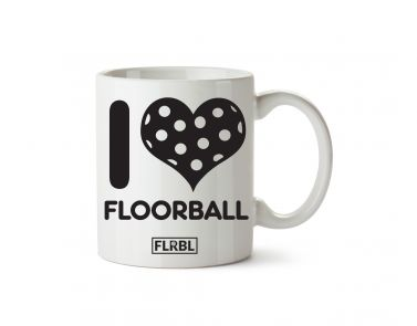 Hrnček I love floorball