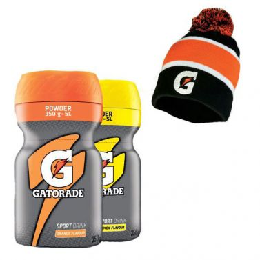 Gatorade Powder + Gatorade čiapka