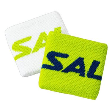 Salming Wristband Short 2-pack Green/White 20/21