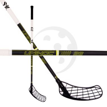 Unihoc Player 26 Black/Yellow 17/18
