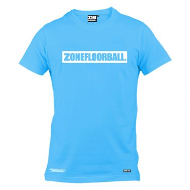 Zone T-shirt Personal Blue/White