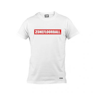 Zone T-shirt Personal SR White/Red