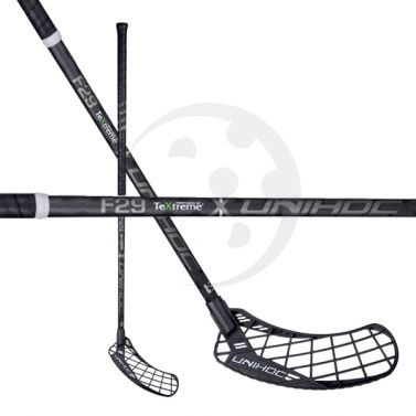 Unihoc Epic TeXtreme FL 29 Black Edt. JR 18/19