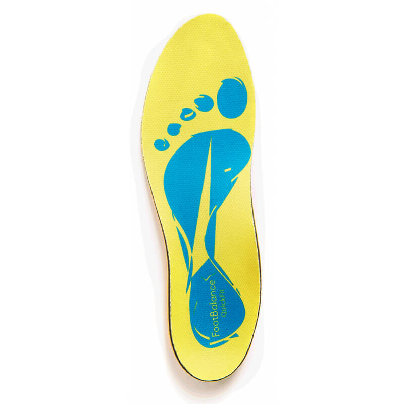 FootBalance QuickFit Yellow vložky