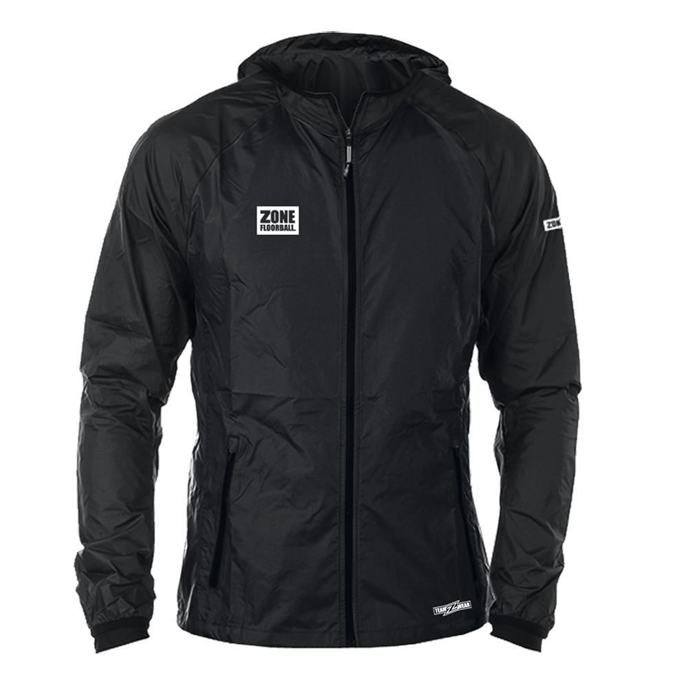 Zone Wind Hybrid Jacket Black JR