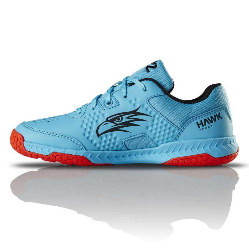Salming Hawk Court Junior Blue/Red