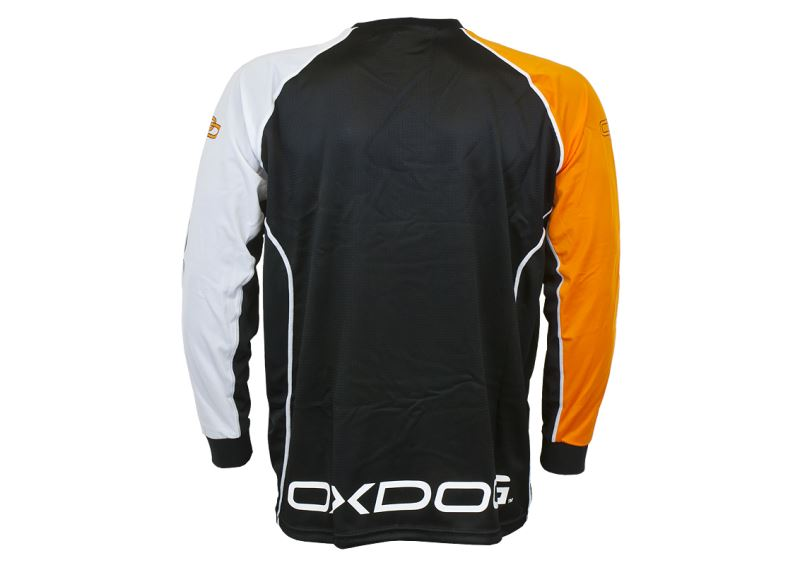 Oxdog Tour Black/Orange brankársky dres