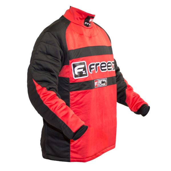 Freez Z-80 Goalie Shirt Black/Red