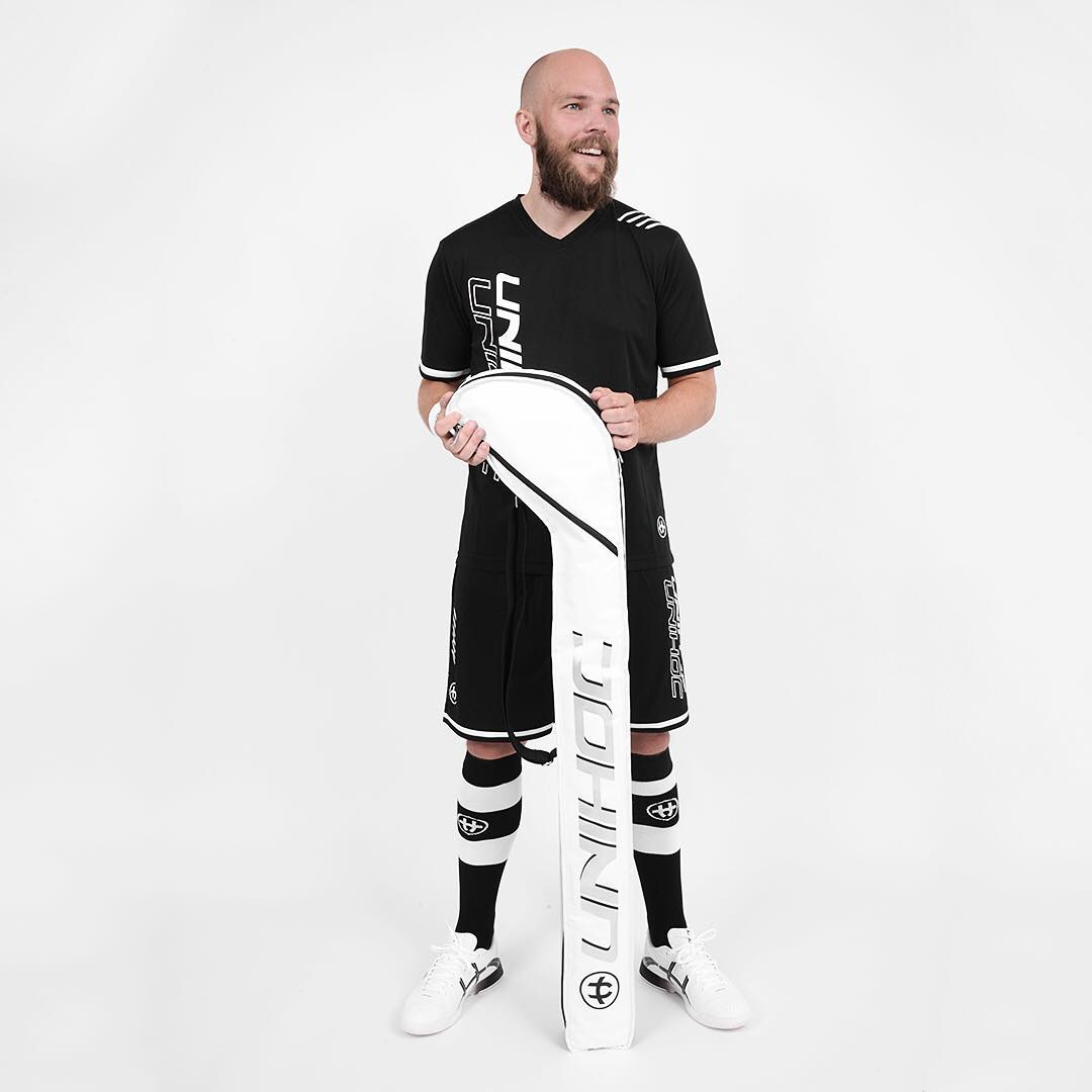 Unihoc Ultra White/Black JR vak na hokejky