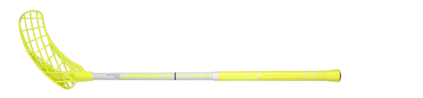 Unihoc Epic Youngster 36 Neon Yellow/White 18/19