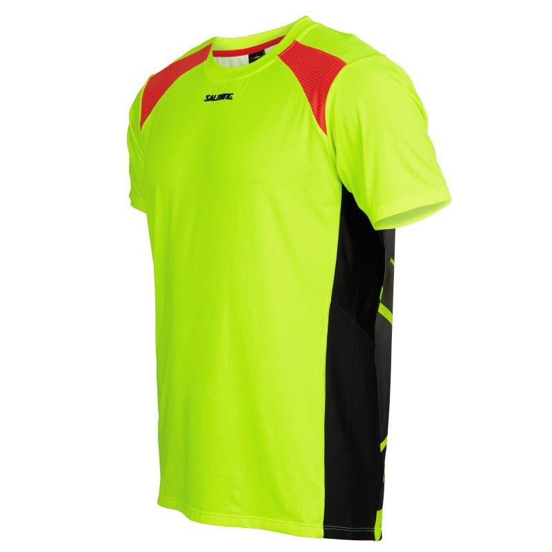 Salming Challenge Tee Yellow/Black