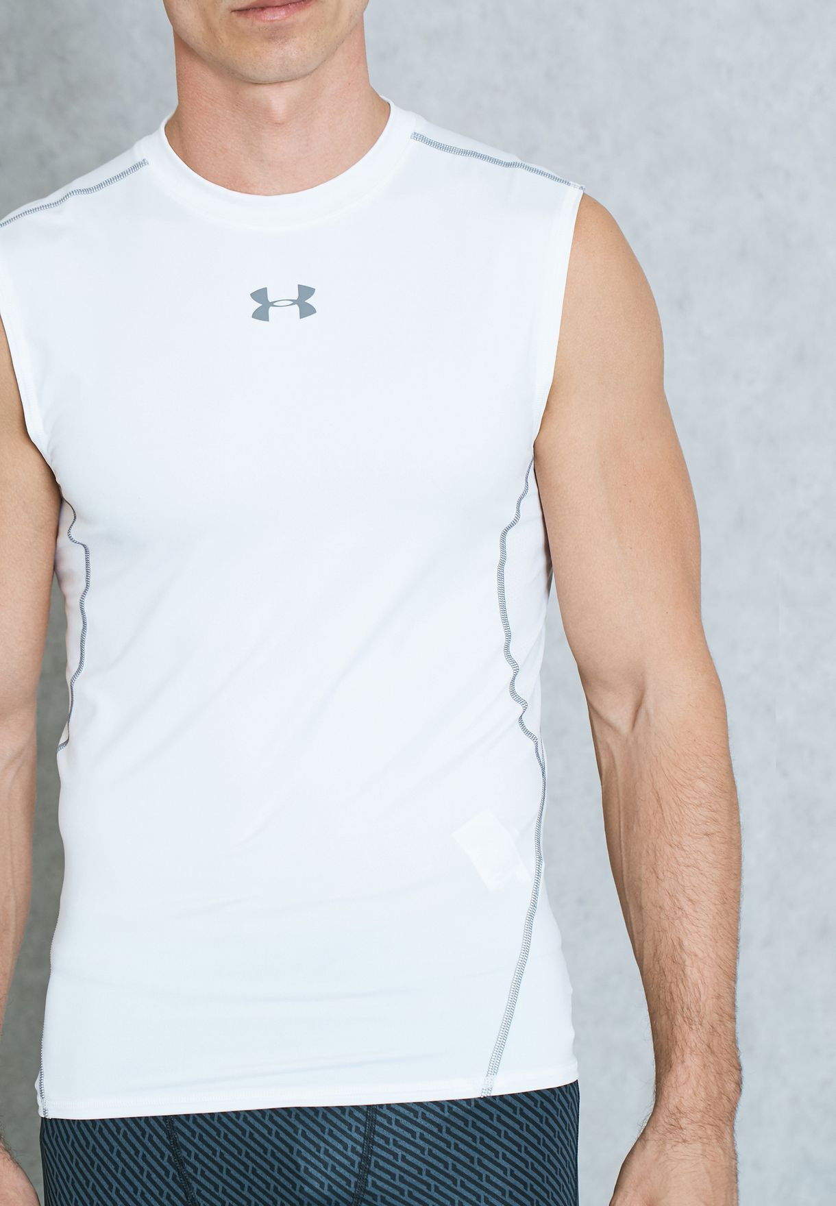 Under Armour HG Armour SL White