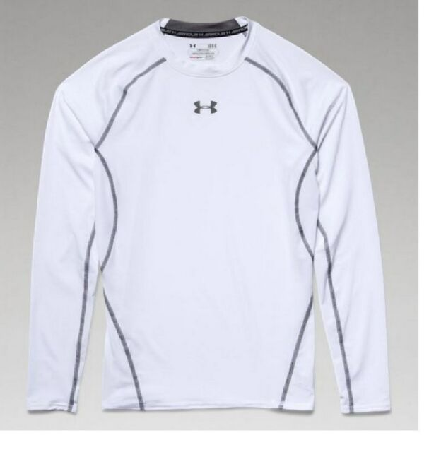 Under Armour HG Armour LS White