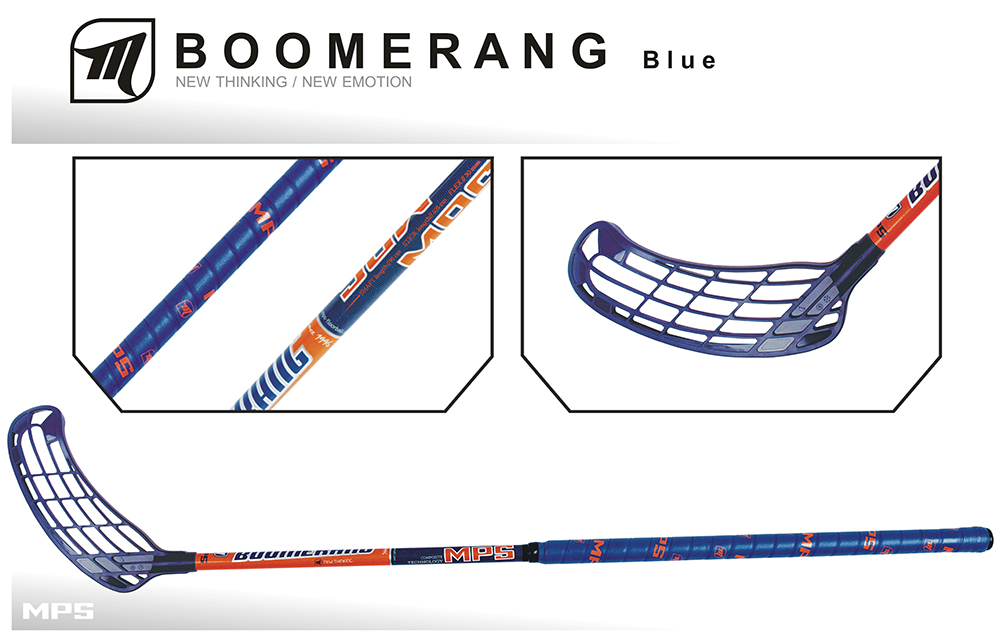 Set MPS Boomerang Navy (12 hokejok)