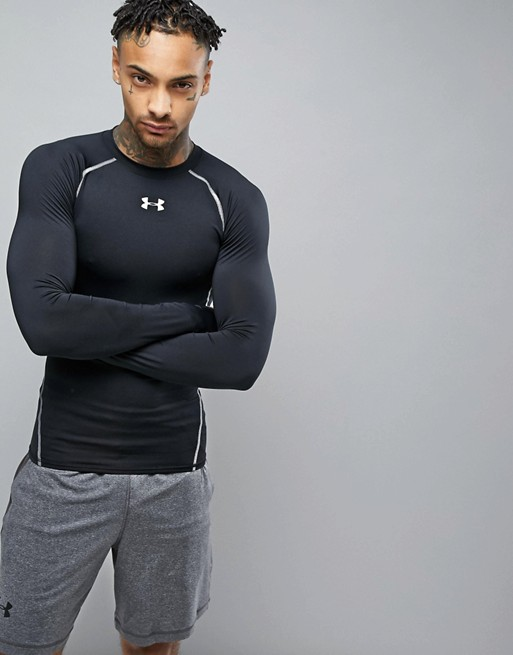 Under Armour HG Armour Black LS