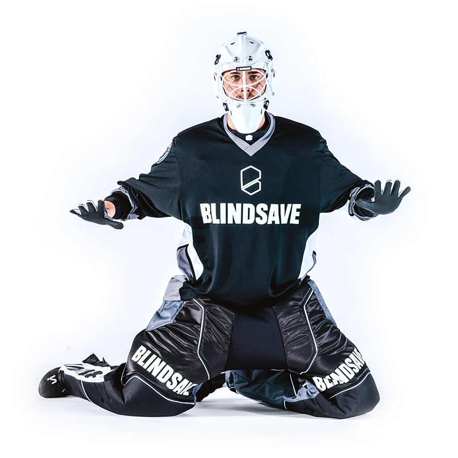 Blindsave Confidence Black brankársky set