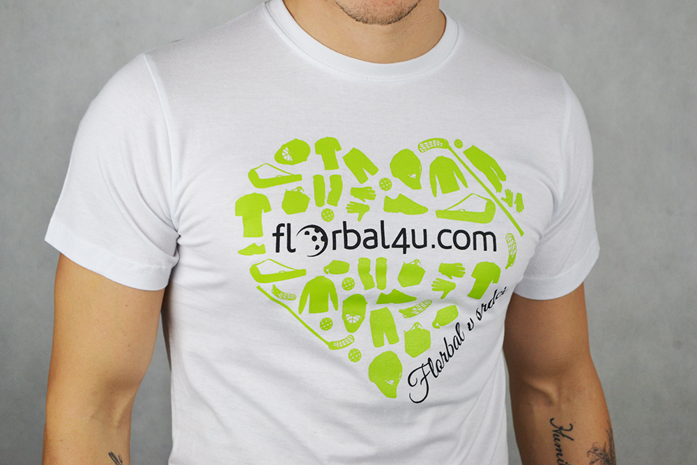 Florbal4u White T-shirt