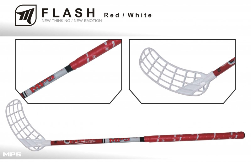 Juniorský set MPS Flash Red (12 hokejok)